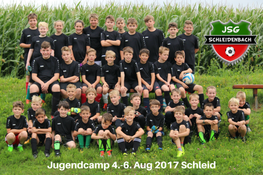 Jugendcamp 2017 in Schleid - JSG Schleidenbach