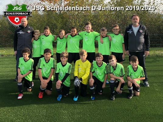 JSG Schleidenbach D-Jumioren 2019/2020