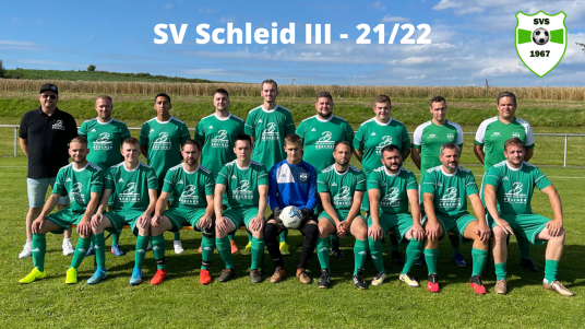 SV Schleid 3 Saison 2021/2022